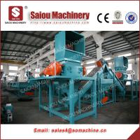 Quality 500kg pp pe washing line hdpe bottle wash recycling machine for sale