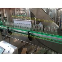 China Food Safety Hygiene Glass Bottle Soda Machine 3.75KW Power Hot Fill Bottling Equipment on sale