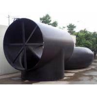 Quality A402 WPL 3-WPL 6 Tee , Welded Forged Steel Pipe Fittings , Tee with A860 for sale