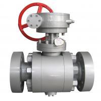 China flange cast steel ball valve for sale