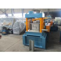 Quality High Precision Z Shaped Purlin Roll Forming Machine Getmany Siemens PLC Control for sale