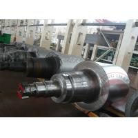 Buy ASTM Forged Steel Shaft Roller , Hot Roll / Cold Rolled Shaft Forging at wholesale prices