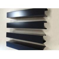 Buy Powder Coated Aluminium Channel Profiles Slotted Wood Grain Different Sized at wholesale prices