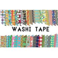 Adhesive Scotch Tape Label Waterproof Masking Printed Washi Paper for sale