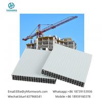 China multi purpose use hollow plastic formwork|newly building concrete formwork|new type holow plastic formwork on sale