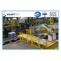 Quality Paper Mill Automatic Palletizing System With Robot Handling 30 M / Min CE Certification for sale