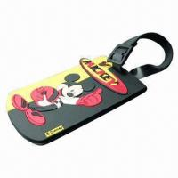 Quality Silicone Luggage Tag, Customized Designs, Logos, Small Quantities and Maximum Orders are Welcome for sale