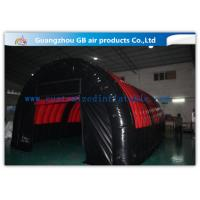 China Airtight Inflatable Air Tent Shelter for Outdoor Running Games 0.9mm PVC Tarpaulin for sale