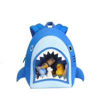 China NHB186 New arrival cute and vivid shark toddler Backpack bag on sale