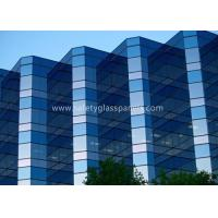 China 12.38mm Low E Laminated Safety Glass for Curtain Wall , Door and Windows for sale