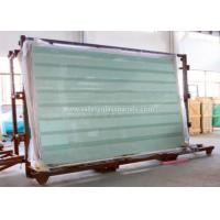 Clear / Tint Laminated Tempered Safety Glass , Solid tempered window glass for sale