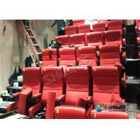 Quality Immersive 4D Cinema Equipment With Electric System And Customized Seats Number for sale
