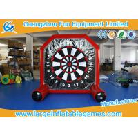 Quality Plato material Inflatable Sport Games / Inflatable Foot Darts For Kids for sale