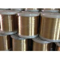 Quality Brass Soft Stainless Steel Wire 0.09 - 2.0mm High Tensile Strength Abrasion Resistance for sale