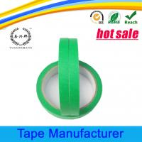 China Automotive paint crepe paper colored masking tape for sale