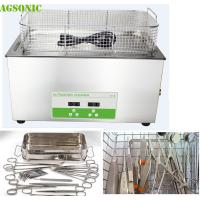 Quality 30 Liter Lab Benchtop Ultrasonic Cleaner For Mobile Surgical Instrument Repair for sale