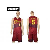 Quality Hotsale Sublimated Custom Quick Dry Basketball Jersey Wear For Sale for sale