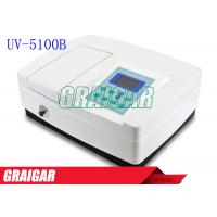 Quality Ultraviolet UV Visible Single Beam Spectrophotometer Auto Setting Wavelength for sale