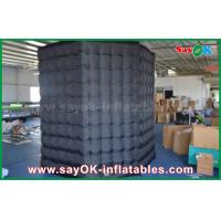 Buy White / Black Octagon Inflatable Photo Booth With Strong Wind Resistant 16 kg at wholesale prices