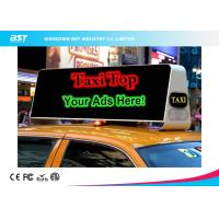 Quality Commercial Taxi Rooftop Advertising Led Display 40000dots/Sqm , High Brightness for sale