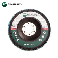 Quality 115X22mm Aluminium Oxide 60 Grit Angle Grinder Flap Disc for sale