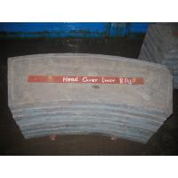 Quality Cement High Cr White Metal Casting Supplies End Liners For Mill for sale
