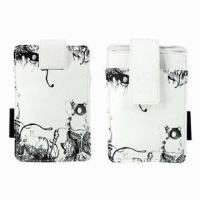 Quality PU Leather Pouches/Cover/Case for Mobile Phone, Bodino Brand of High-quality for sale