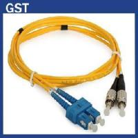 Quality SC/PC-FC/PC Duplex Sm-Fiber Optic Patch Cord for sale