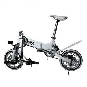 14 Non Slip Safe Foldable Electric Bike Endurance 3-4 Hours 25 KM/H Max Speed