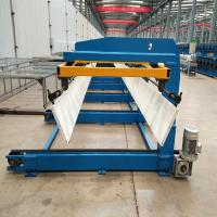 Buy cheap Roof panel sheet automatic sheet stacker machine / auto stacker for steel panel from wholesalers