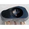Irregular Basin Black Granite Stone Sink Bowl For Washing Hands for sale