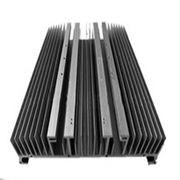 Quality Heat Sinks For Decorations , Extruded Aluminum Heatsink AL6000 Anodized Electrophoresis for sale