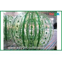 Quality Customized Giant Durable Inflatable Zorbing Ball For Hamster Ball Game 2.3x1.6m for sale