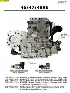 Quality Auto Transmission 46RE 47RE 48RE sdenoid valve body good quality used original parts for sale