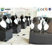 Buy Pneumatic 5D Motion Theater Chair With Spray Water Function Rubber Cover at wholesale prices