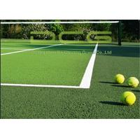 Quality Excellent Shock Absorption Tennis Artificial Grass Carpet UV And Fire Resistance for sale