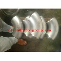 Quality ASTM A815 UNS31803 GR2205 Duplex Stainless Steel Welded Elbow 90deg LR DN600 SCH40S for sale