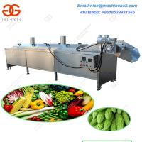 China Industrial Vegetable Cooking and Blanching Machine|Automatic Potato Chips Cooking and Blanching Machine on sale