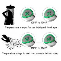 Buy JK-2600 LED Thermometer Handheld Shower Heads Water Powered Light to Display at wholesale prices