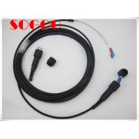 Quality Odlc Fiber Patch Cord Dust Proof , 2 Core Armoured Fiber Optic Cable Gyfjh for sale