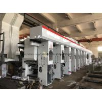 China Roll To Roll Multi Colour Rotogravure Printing Machine / Plastic Gravure Printing Machine on sale
