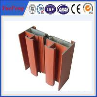 Quality electrophoretic aluminium profiles for windows for sale