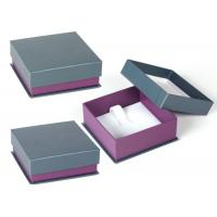 Quality Women Jewellery Presentation Boxes , High End Custom Jewelry Gift Boxes for sale