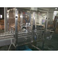 Quality Piston Filling / filler Machine with Blocked nozzles for Liquid Bottling of oil, detergent for sale