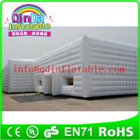 Quality Commercial use air dome tent dome inflatable tent Lighting inflatable tent structure for sale