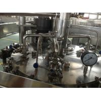 Quality Beer Bottle Washing Machine / Glass Bottle Filling and Capping System for Liquor or Alcohol for sale