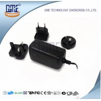 Buy Wall Mount AC DC Switching Power Supply 12v 2a With Interchangeable Plugs at wholesale prices