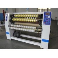 China Automatic BOPP Adhesive Tape Slitting Machine For Fabric / Thermal Paper on sale