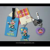 Quality hot selling promotion gifts cartoon luggage tag, soft pvc luggage tag, id card luggage tag for sale