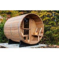 Quality Cedar Electronic Outdoor Steam Shower Cabins For Dry Sauna , 1800*2400mm for sale